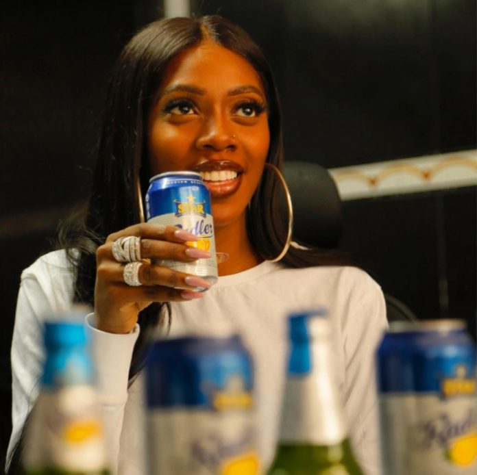 [Sweetgbedu Gist] Tiwa Savage Joins Burna Boy As Star Lager Beer Ambassador