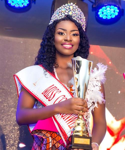 "[Sweetgbedu Gist] Unbelievable story how  ""Gloria Obeng Nyarko"" Finally won Miss commonwealth Ghana 2019"